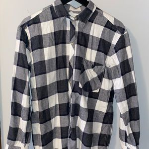 Aritzia Plaid Button-up